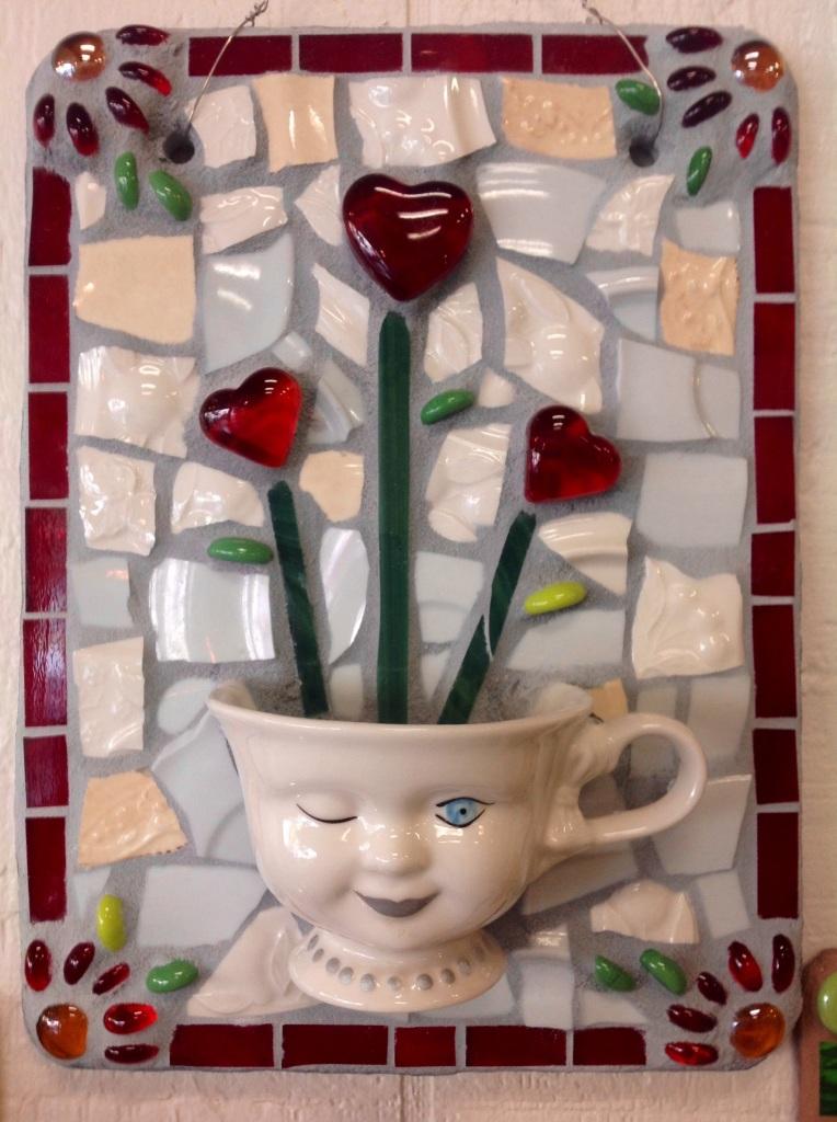 """""""Coffee and Love""""  Mosaic"""
