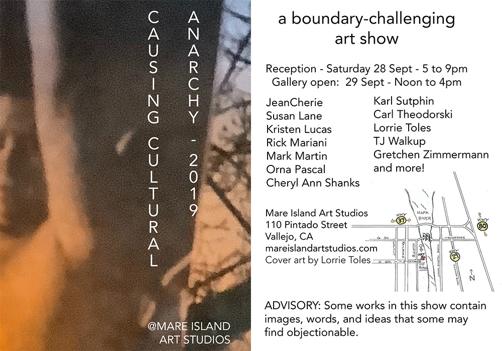Causing Cultural Anarchy | a boundary challenging art show