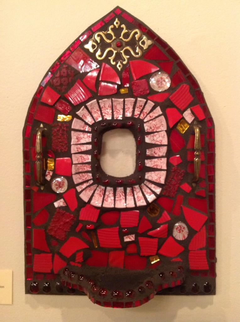 """""""Red Shrine"""" Mosaic"""